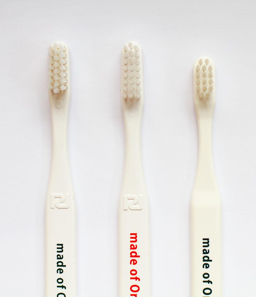 メイドオブオーガニクスの歯ブラシ