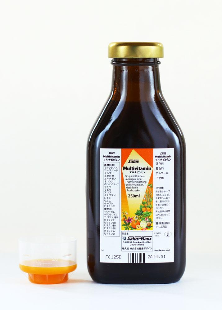 液体マルチビタミン