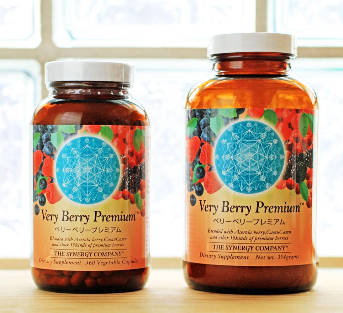 天然果実100% ベリーベリープレミアム (天然100%ビタミンC)