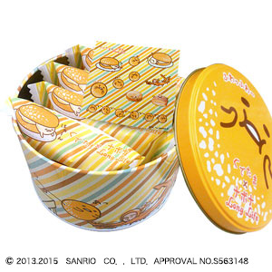 ぐでたま×ナボナロングライフ4個入【サンリオ・コラボレーション商品】