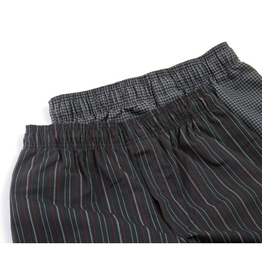 "Uncommon Thread(アンコモンスレッド) ""4003 Yarn Dyed Baggy Chef Pants Remake"" [] -MEN"