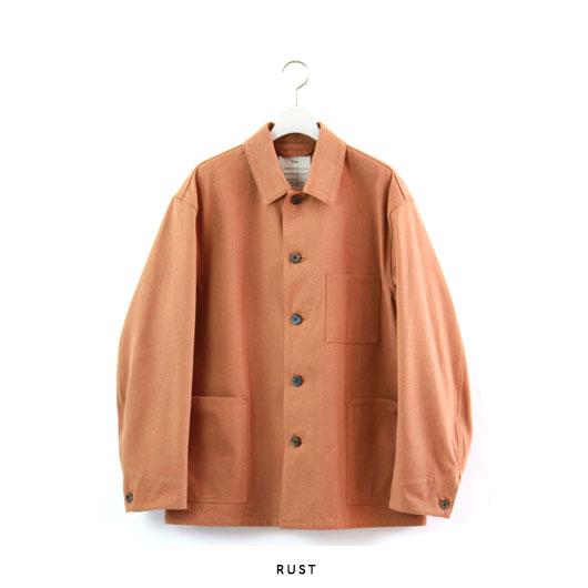"TEXT(テクスト) ""Farmer Jacket"" [T20A-03BL01C] -UNISEX"