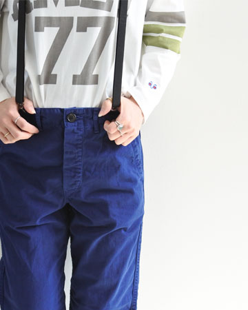 "orslow(オアスロウ)""FRENCH WORK PANTS""[03-5000] -UNISEX"
