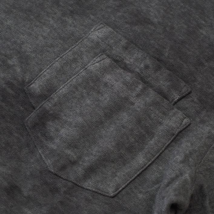 "CHARCOAL(チャコール) ""OC Pile Tye-Dye Crew S/S"" [21-01-1-010] -MEN"