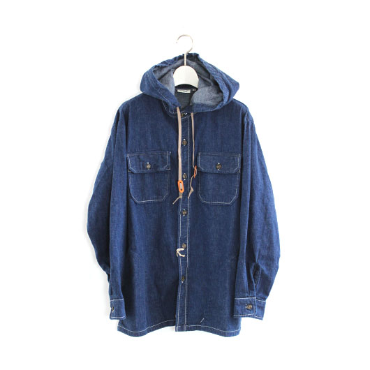 "orslow(オアスロウ) ""HOODED SHIRT JACKET"" [03-8003] -UNISEX"