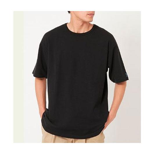 """HOLLYWOOD RANCH MARKET(ハリウッド ランチ マーケット)""""ストレッチフライス ルースショートスリーブTシャツ""""[CS1594]-MEN"""