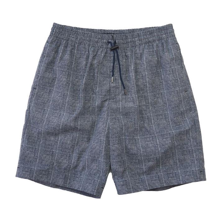 "DESCENTE PAUSE(デサント ポーズ)""GLEN CHECK SHORT PANTS"" [DLMRJG83]-MEN"