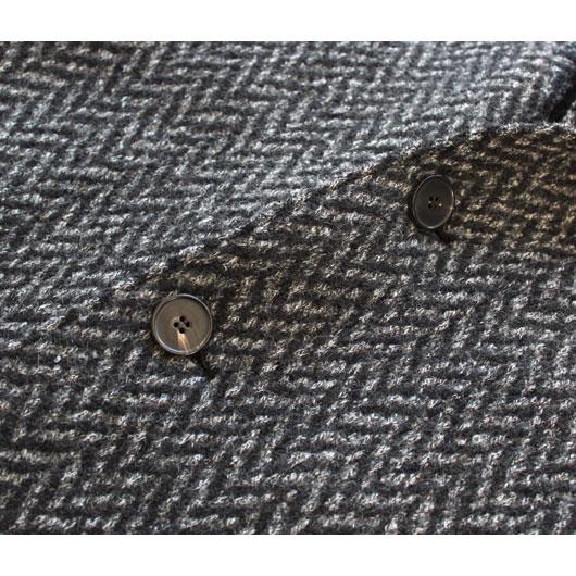 "HARRIS WHARF LONDON(ハリスワーフロンドン) ""Over Coat -knitted Herringbone-"" [C9121MB2] -MEN"