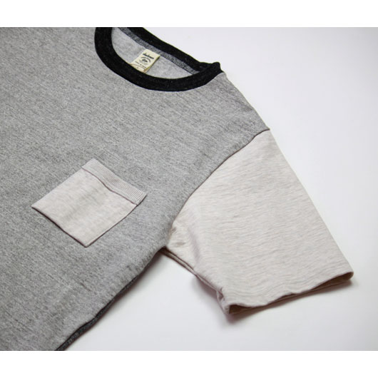 "Jackman(ジャックマン)""Dotsume Pocket T-Shirt"" [JM5870] -MEN"