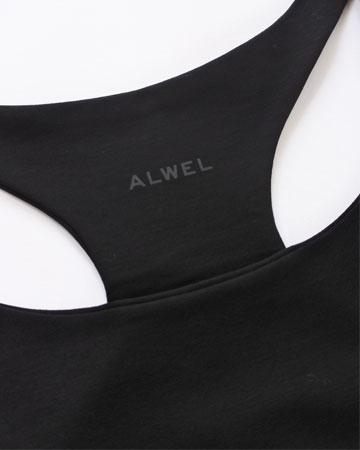 """ALWEL (オルウェル) """"RACER BACK TANK"""" [RB-2] -WOMEN"""