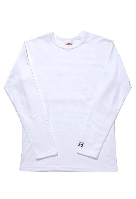 """【再入荷】HOLLYWOOD RANCH MARKET(ハリウッド ランチ マーケット)""""ストレッチフライス クルーネックロングスリーブ Tシャツ""""[CC961]-MEN"""