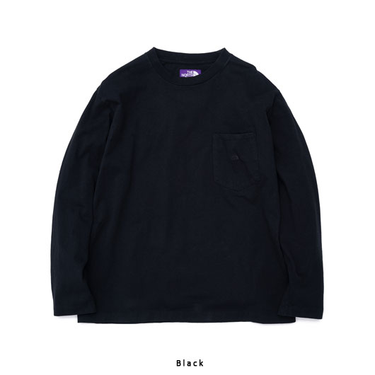 "THE NORTH FACE PURPLE LABEL(ザ ノースフェイス パープルレーベル) ""7oz L/S Pocket Tee"" [NT3058N] -UNISEX"