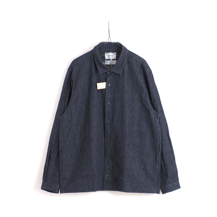 "YAECA(ヤエカ) ""デニム コンフォートシャツ リラックススクエア"" [11116] -MEN"