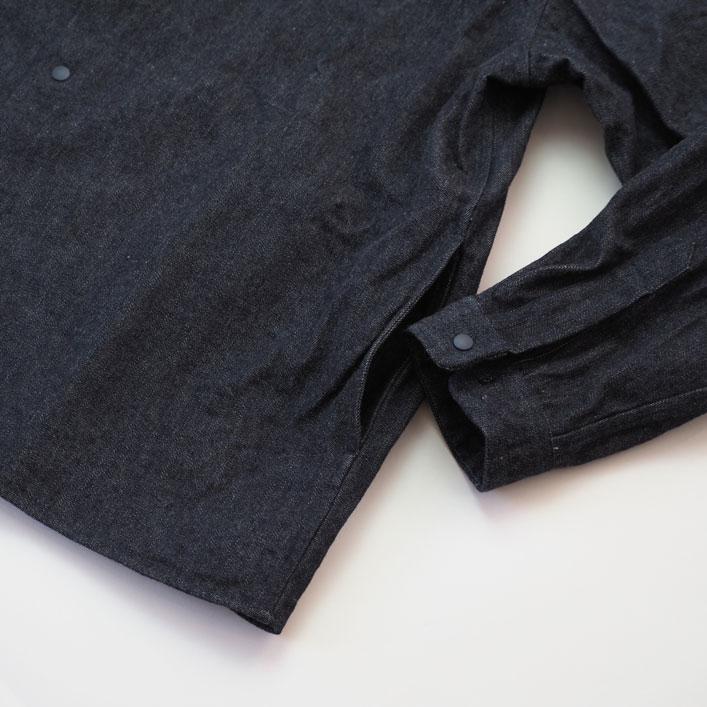 "YAECA(ヤエカ) ""デニム コンフォートシャツ リラックススクエア"" [61112] -WOMEN"