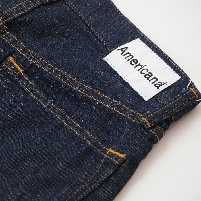 """Americana(アメリカーナ)""""カットオフ クロップド 5POC DENIM PANTS""""[AL-395OW]-WOMEN"""