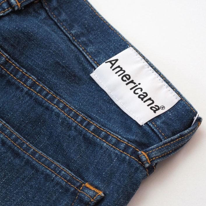 """Americana(アメリカーナ)""""カットオフ クロップド 5POC DENIM PANTS""""[AL-395USED]-WOMEN"""