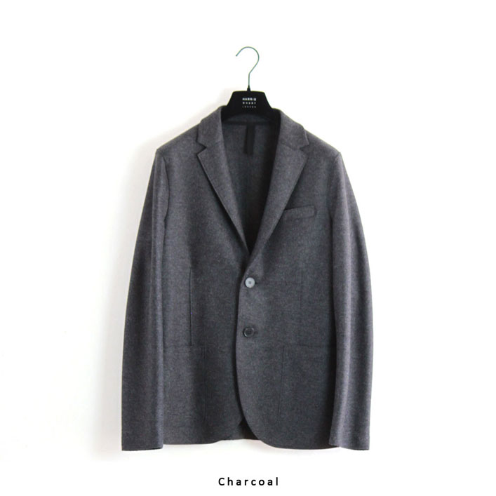 "HARRIS WHARF LONDON(ハリスワーフロンドン) ""Men 2B Blazer Light Pressed Wool"" [C8B22MLX] -MEN"