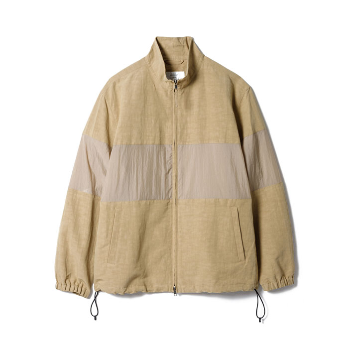 "Sandinista (サンディニスタ) ""Linen Stand Collar Jacket"" [SP21-03-OW]-MEN"