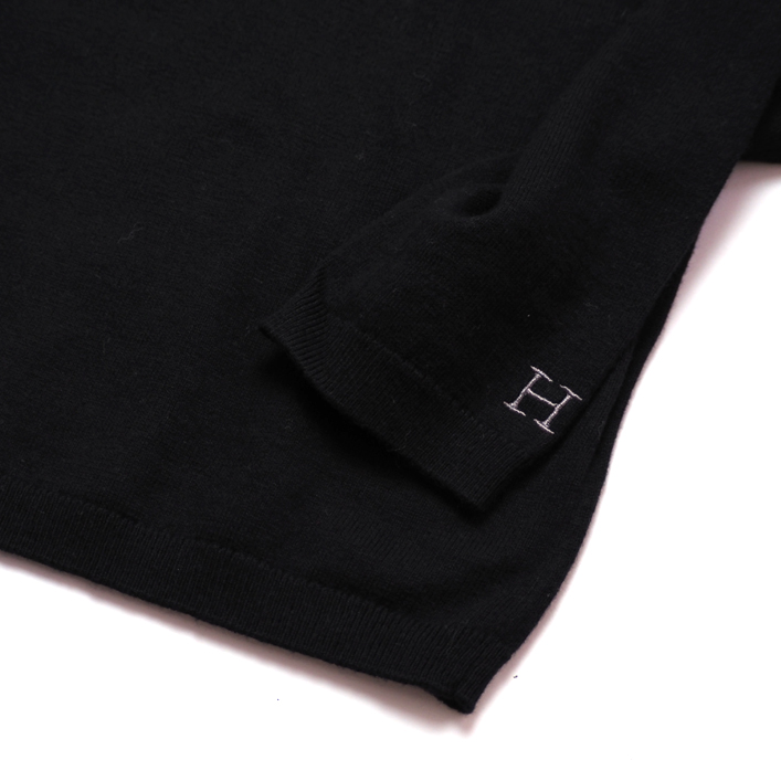 "HOLLYWOOD RANCH MARKET(ハリウッド ランチ マーケット) ""SPRING COTTON CASHMERE WASHABLE CN SWEATER""[KC1520] -MEN"