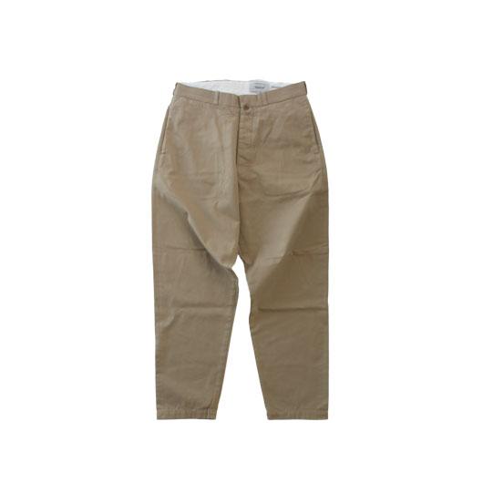 """YAECA(ヤエカ) """"CHINO CLOTH PANTS  ワイドテーパード """" [18652] -MEN"""