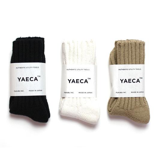 "YAECA(ヤエカ)""Cotton Silk ソックス LONG"" [10902] -UNISEX"
