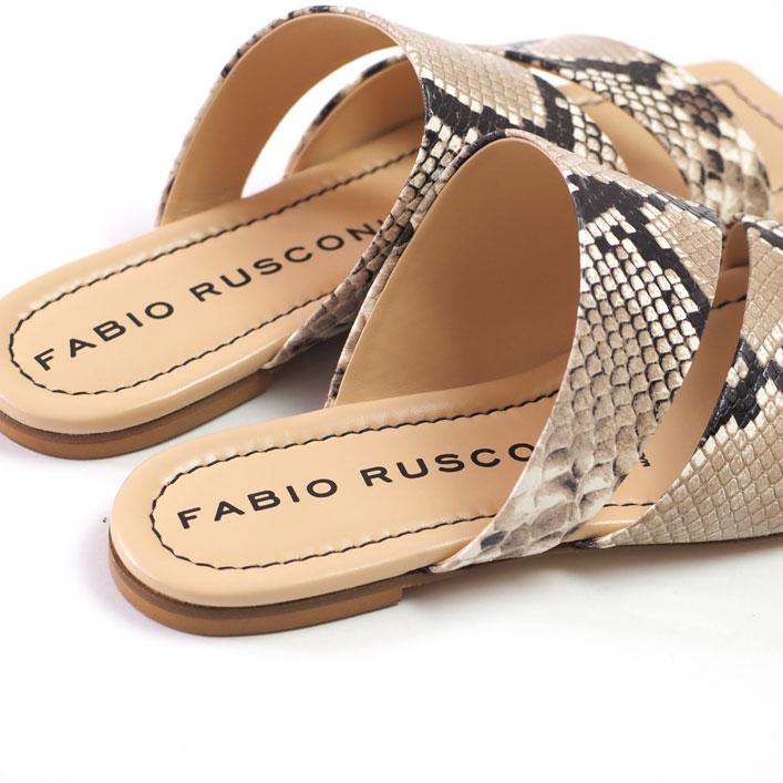 """FABIO RUSCONI(ファビオ・ルスコーニ) """"フラット サンダル""""[S-5779] -WOMEN"""