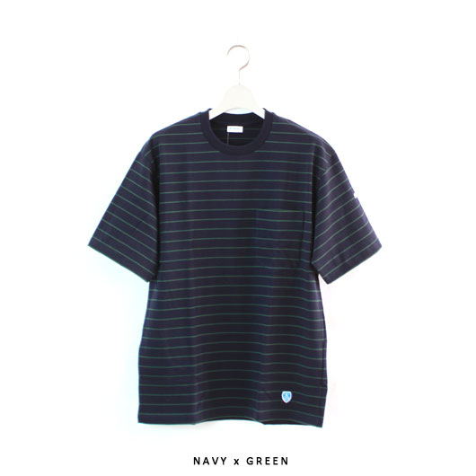 "ORCIVAL(オーチバル・オーシバル) ""30//- HIGH COUNT JERSEY S/S TEE"" [RC-9166] -MEN"
