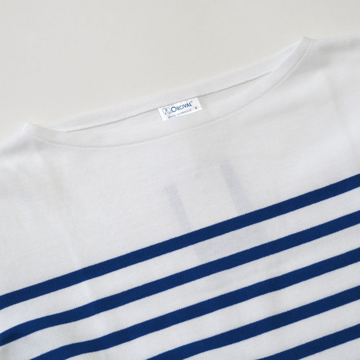 "ORCIVAL(オーチバル・オーシバル) ""ラッセルフレンチセーラー バスクTシャツ -14stripe- "" [#6803] -WOMEN"