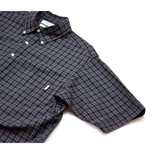 """Gymphlex(ジムフレックス) """"半袖ビッグボタンダウンシャツ"""" [J-1422NBP] -MEN"""