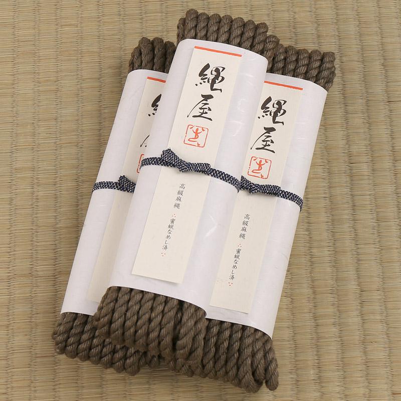 【3%OFF】高級麻縄・10Mタイプ[老竹色]3本セット