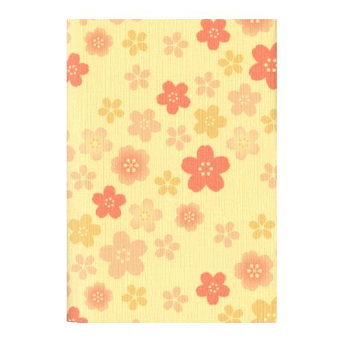 ふすま地ブックカバー 桜 1625