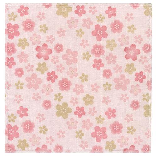 絵便りハンカチ 桜