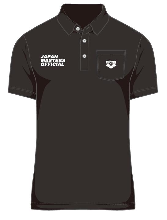 ジャパンマスターズ2021 競技役員用ポロシャツ