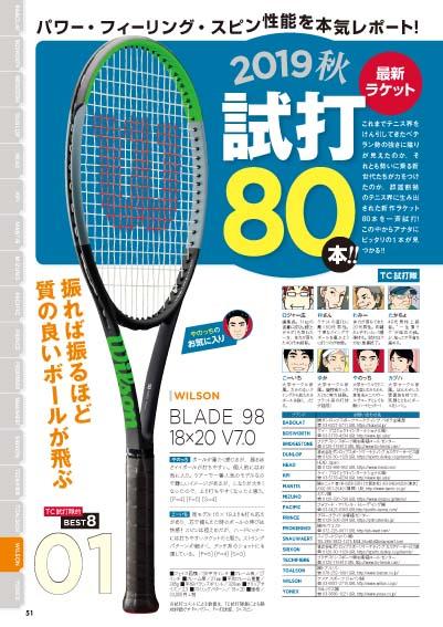 テニスクラシック・ブレーク2019年11月号