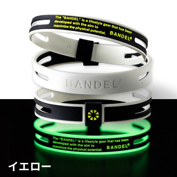 バンデル ゴースト ルミナス ブレスレット ネオン GHOST Luminous Bracelet BANDEL ネオン シリコン パワーバランス