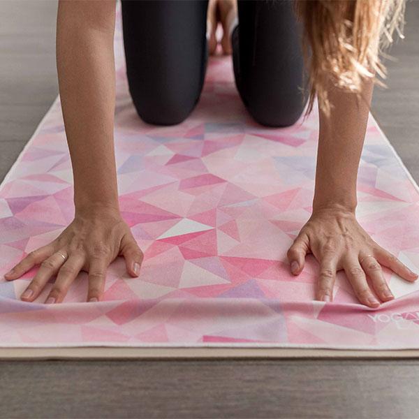 ヨガデザインラボ ヨガマットタオル 吸水速乾 ヨガ ピラティス Yoga Design LAB