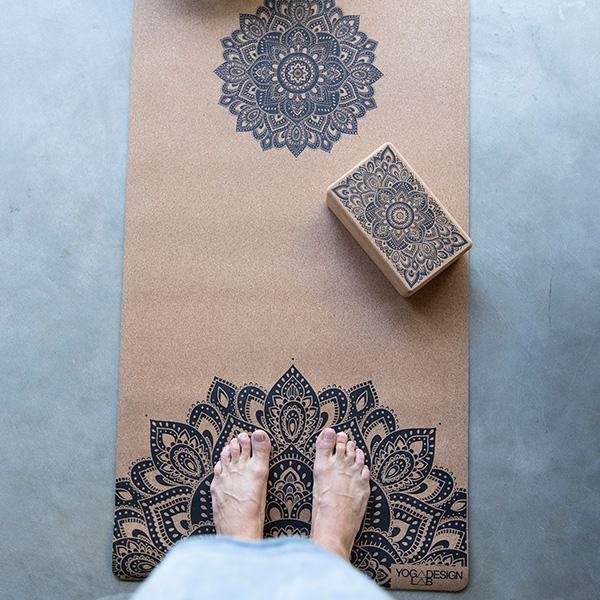 ヨガデザインラボ コルクブロック マンダラ ヨガ ピラティス トレーニング フィットネス エクササイズ  Yoga Design LAB