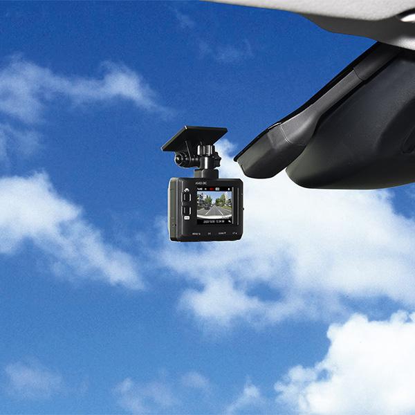 Elut エルト ドライブレコーダー (前後2カメラ) AG422-DRC