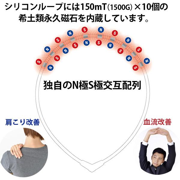 コラントッテ ネックレス オルト Colantotte 磁気ネックレス 正規品 肩こり
