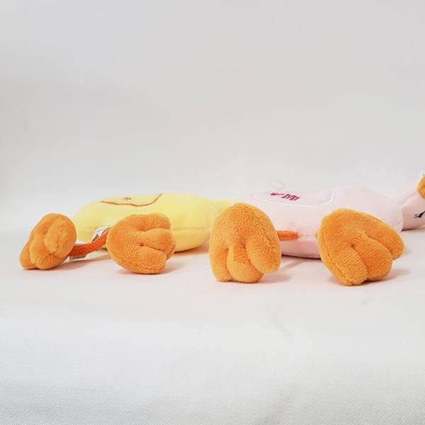 犬のおもちゃ|スクィーキースワンイエロー