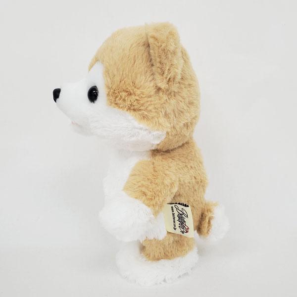 動く犬のぬいぐるみおもちゃ|ウォーキングトーキングパピー秋田犬