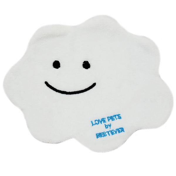 【おやつ ポケット付】犬 おもちゃ ペットトイ 音が鳴る 遊ぶ ストレス解消 噛みやすい【 LOVE PETS by BESTEVER ラブペッツ バイ ベストエバー 】Thin & Chewy 雲 白雲 雨雲