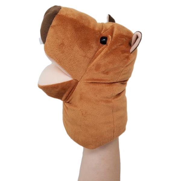 犬のおもちゃ|ハンドパペット カピバラ