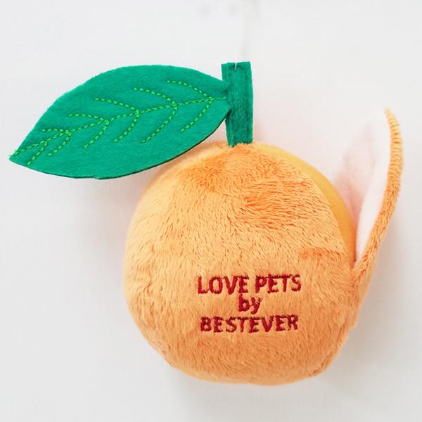 犬のおもちゃ|スクィーキーオレンジ