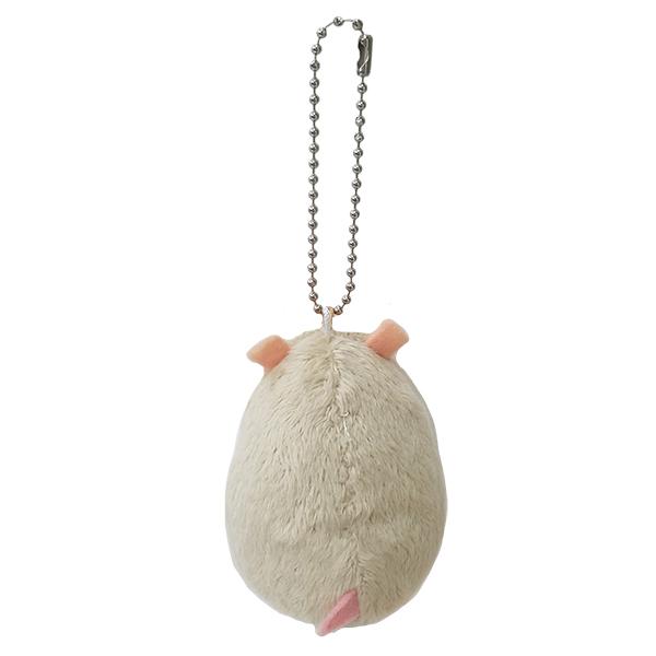 卵サイズのハムスターマスコット|ハムスターエッグ ボールチェーン ロボロフスキー