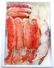 生タラバガニ 1� ハーフポーション 半殻剥き済み たらば蟹  生タラバ