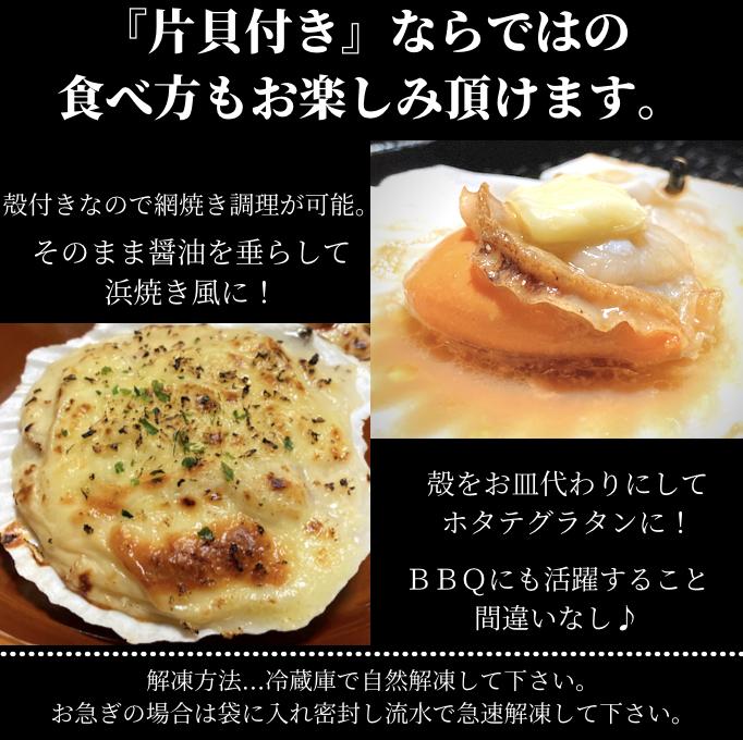 北海道産  帆立片貝 (ちょっと訳あり) 10枚前後  ホタテ  帆立片貝  BBQ