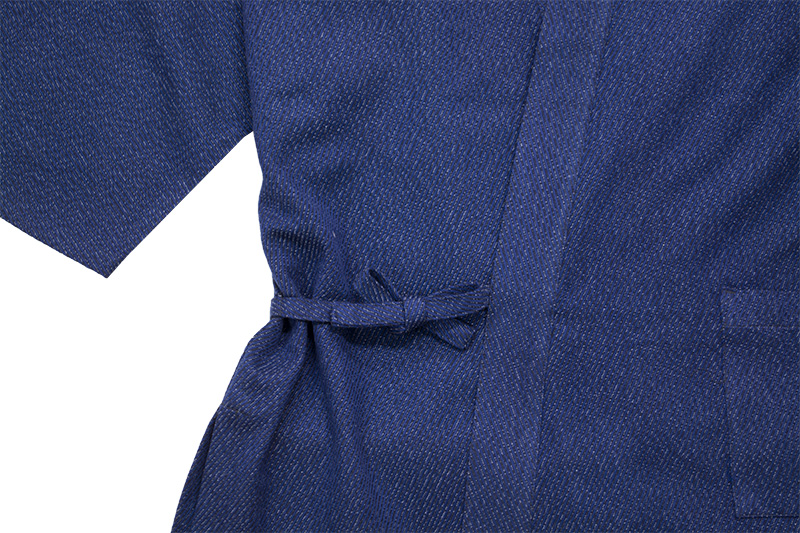 作務衣 厚織 日本製 久留米織 サムイ さむえ メンズ 普段着 父の日 ギフト プレゼント