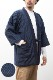 綿入れはんてん 男性用 特許 前合わせ兼用 紬織 かつお縞 半纏 袢纏 半天 どてら ちゃんちゃんこ 丹前 メンズ 防寒 ギフト プレゼント 日本製 久留米産