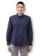 長袖ボタンダウンシャツ ドビー織<日本製久留米産>メンズ カジュアル ジャケットフォーマル ギフト プレゼント 父の日 敬老の日